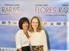 Glória Pires vibra com filme em pré-estreia: 'Ficou lindo'