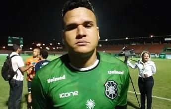 """""""Caímos de rendimento"""", diz goleiro do Rio Branco, após empate com o Real"""