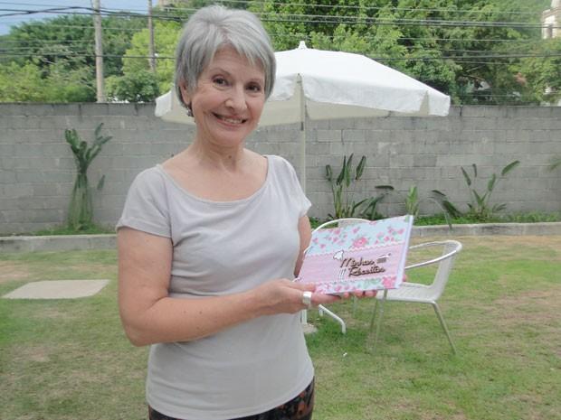Ida celina ajudavDona Picucha a escrever seu livro de receitas (Foto: Doce de Mãe)