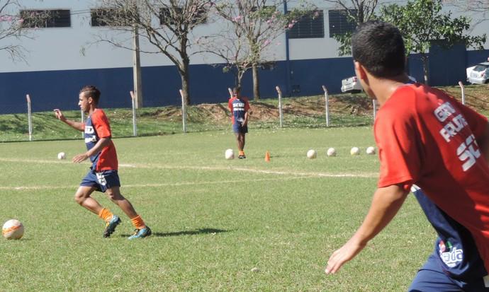 Time sub-20 do Grêmio Prudente estreia na segunda divisão do Campeonato Paulista neste sábado (Foto: Mateus Tarifa / GloboEsporte.com)