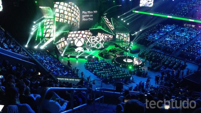 Microsoft na E3 2015 (Foto: Felipe Vinha/TechTudo)