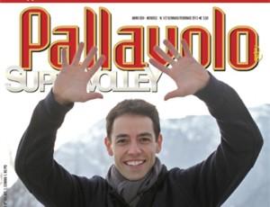 Raphael Vieira foi capa da principal revista de vôlei do mundo (Foto: Arquivo Pessoal/Raphael Vieira)