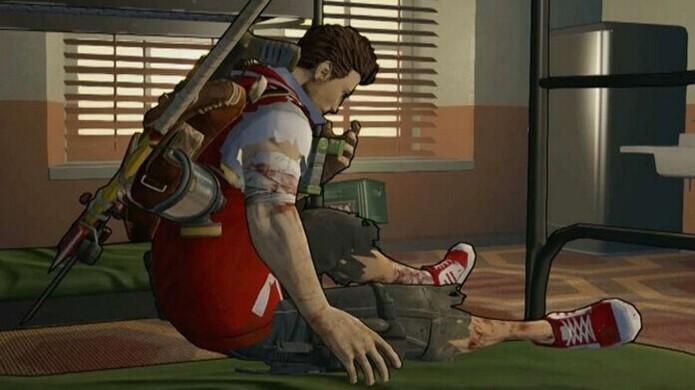 Cliff volta aos mesmos locais constantemente em Escape Dead Island (Foto: Gameguyz)