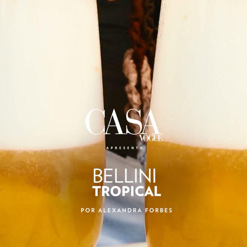 Receita de Bellini Tropical (Foto: divulgação)