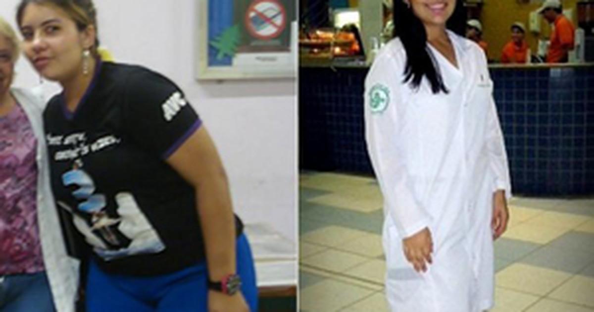 0561217da G1 - Estudante de 19 anos elimina 21 kg após calça tamanho 46 ficar  apertada - notícias em VC no Bem Estar