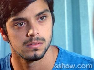 Marlon fica arrasado (Foto: Além do Horizonte/TV Globo)