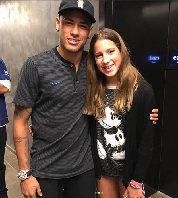 Neymar e Clara (Foto: Reprodução/Instagram)