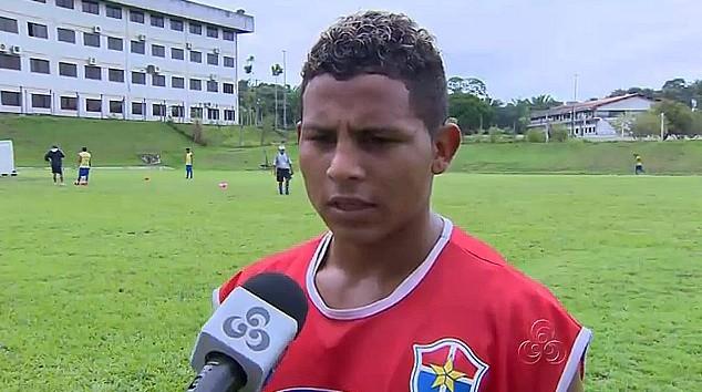 Um atacante veloz é como se define o jogador Eliélton que veio para somar na estreia de hoje (Foto: Bom dia Amazônia)