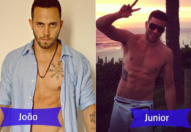 João e Junior (Foto: reprodução)