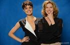 Sophie e Patricia vivem Duda e Angela Mahler (Foto: Raphael Dias / TV Globo)