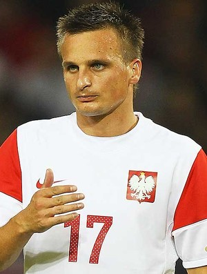 Slawomir Peszko, da seleção da Polônia (Foto: Getty Images)