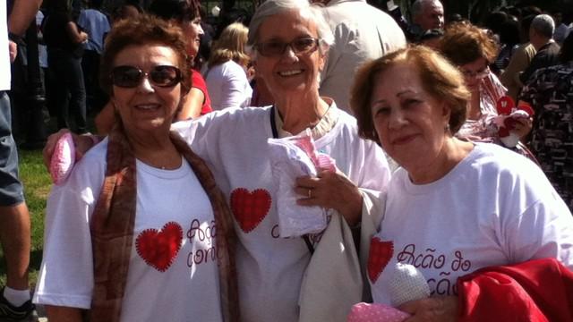 Ação do Coração (Foto: Priscila Martinez)