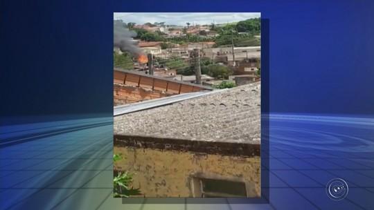 Mulher se queima após casa pegar fogo em Itararé