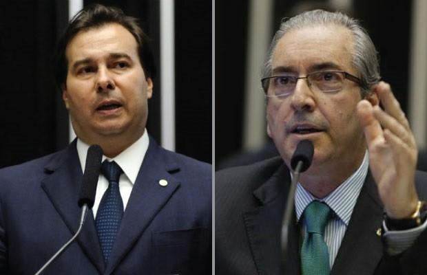 Cunha citará Rodrigo Maia em delação premiada