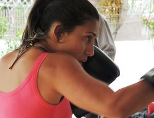 Larissa freitas, mma, lutadora, santa catarina (Foto: Diego Madruga)