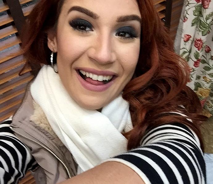 Bianca Andrade diz que colocar câmera no alto é técnica infalível para melhor selfie (Foto: Bianca Andrade)