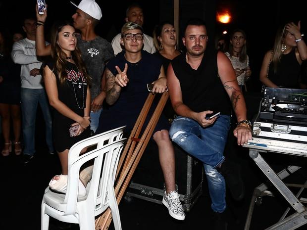 MC Gui em show em São Paulo (Foto: Cláudio Augusto/ Brazil News)