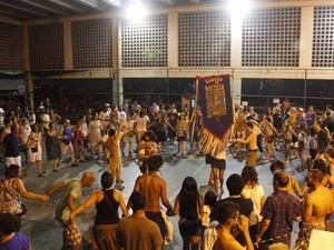 Cordão do Boitatá faz ensaios no Morro dos Prazeres, em Santa Teresa (Foto: Divulgação/ Cordão do Boitatá)
