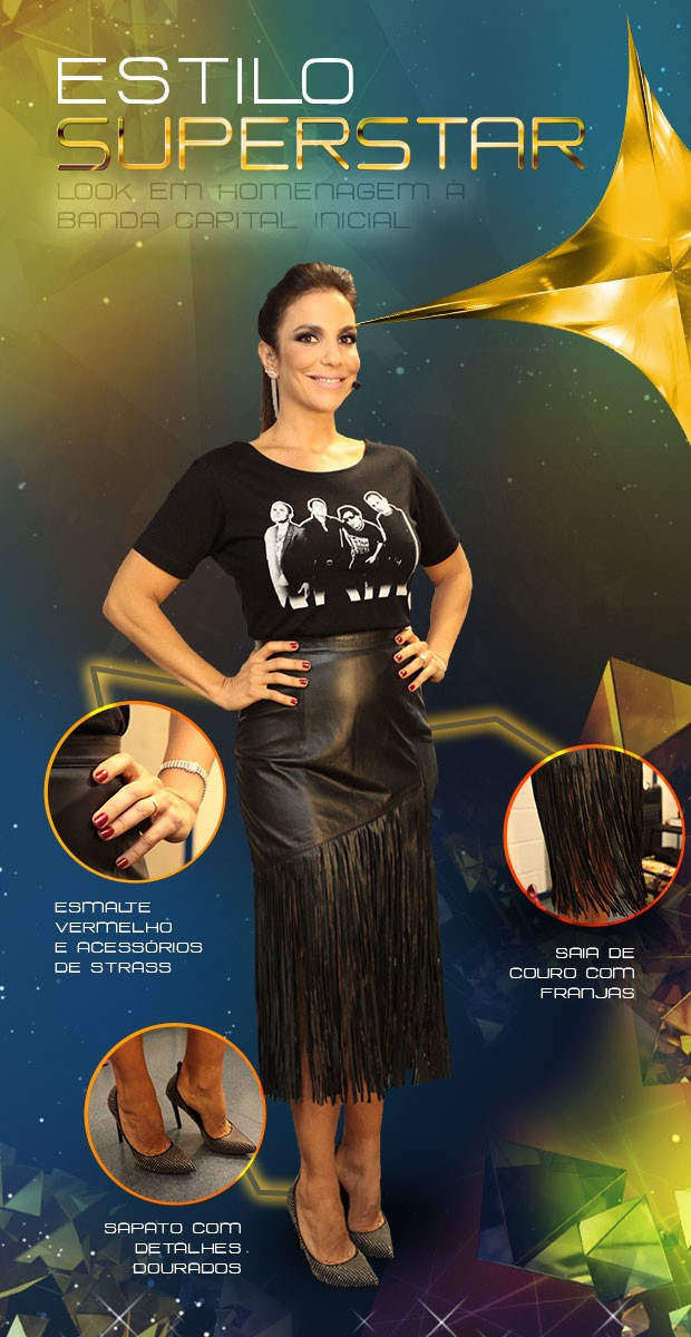 look Ivete Sangalo (Foto: SuperStar / TV Globo)