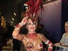 Veja as famosas que mais ousaram nas fantasias no carnaval de São Paulo e do Rio