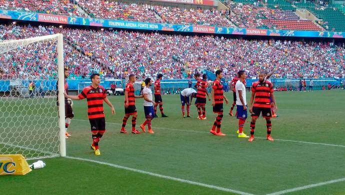 Bahia x Campinense; arena fonte nova (Foto: Divulgação/EC Bahia)