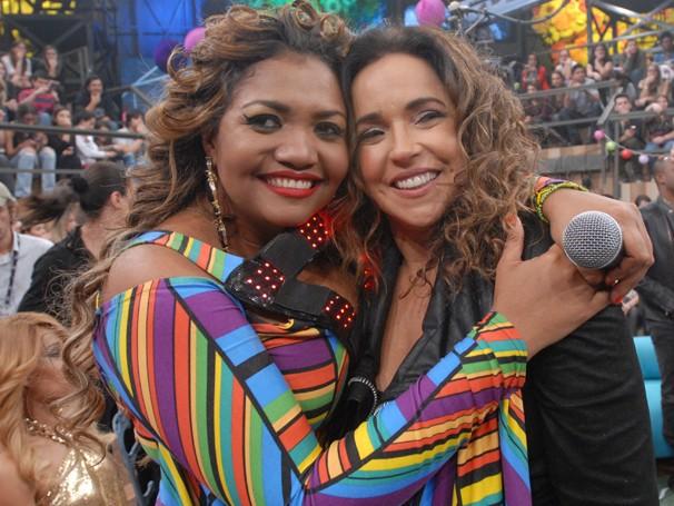 Gaby Amarantos e Daniela Mercury se apresentarão juntas no show do Criança Esperança 2013 (Foto: Divulgação)
