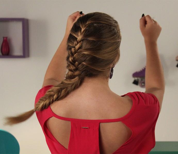 O penteado ficou um charme! (Foto: Luis Carlinhos)