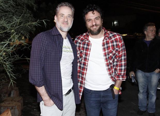 Dan Stulbach e Rodrigo Lombardi (Foto: Thyago Andrade/Brazil News)
