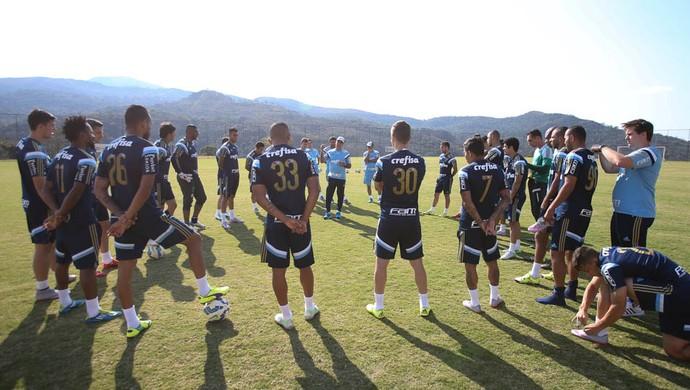 Treino Palmeiras Nova Lima (Foto: Cesar Greco/Ag Palmeiras/Divulgação)