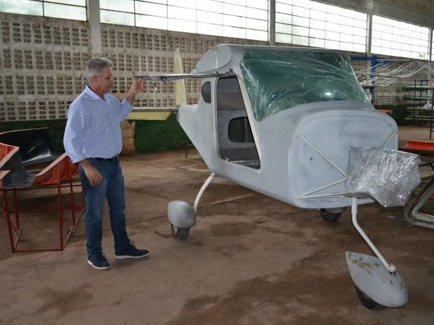 aeronaves - [Brasil] Empresário de RO constrói avião e sonha com fábrica de aeronaves G1_-_estrutura