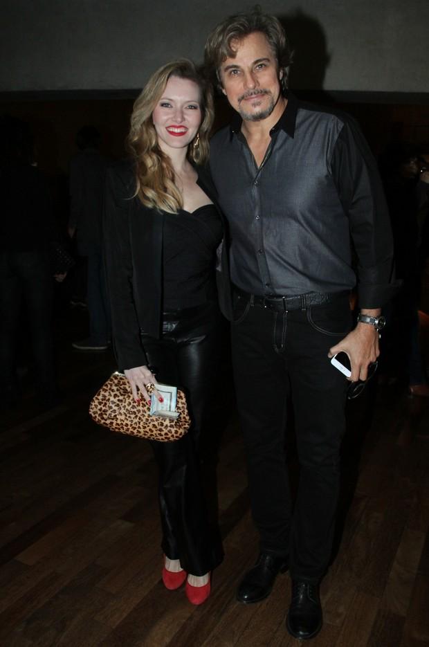 Edson Celulari e mais famosos na peça The Suit (Foto: GRAÇA PAES/PHOTO RIO NEWS)