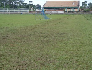 """Construido na década de """"90"""", o estádio municipal José Ferreira Lima aguarda por reforma. (Foto: Cedida)"""