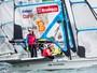 Martine e Kahena vencem duas regatas e sobem para 3º no Mundial