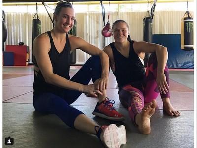 Mikaela Mayer Ronda Rousey UFC (Foto: Reprodução/Instagram)