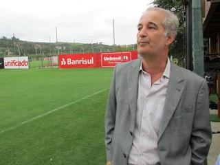 Giovanni Luigi presidente Inter (Foto: Tomás Hammes / GLOBOESPORTE.COM)