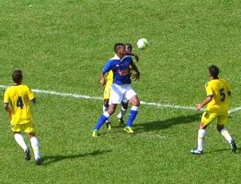 Cruzeiro e Audax - Copa São Paulo de Futebol Júnior (Foto: Danilo Sardinha/GloboEsporte.com)