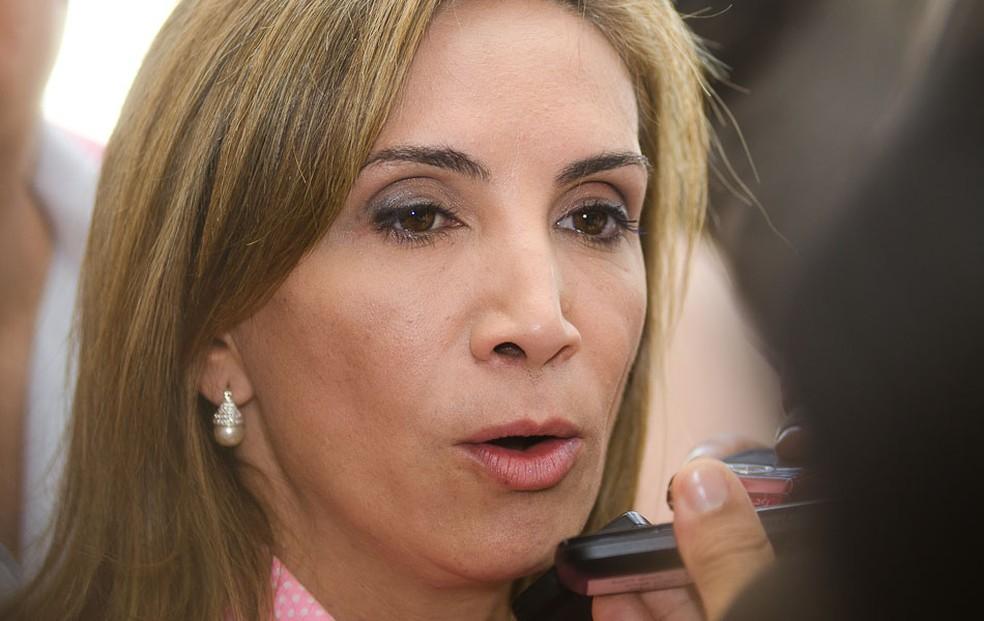 A ex-prefeita de Ribeirão Preto Dárcy Vera (PSD) é investigada por desvio de R$ 45 milhões (Foto: Érico Andrade/G1)