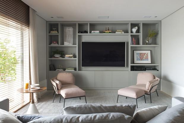 Reforma integra ambientes e moderniza apartamento antigo (Foto: Divulgação)
