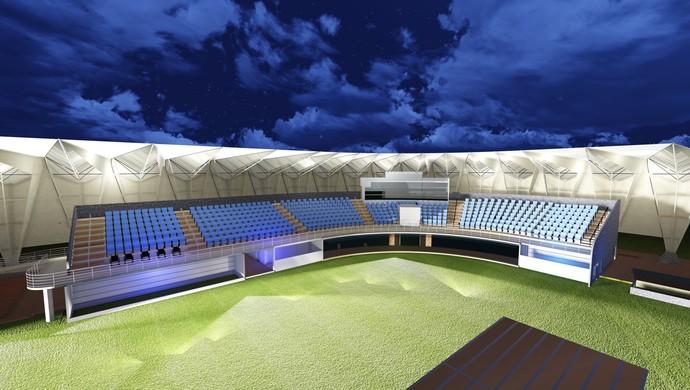 Grande arena - Jogos Mundiais Indígenas (Foto: Divulgação)