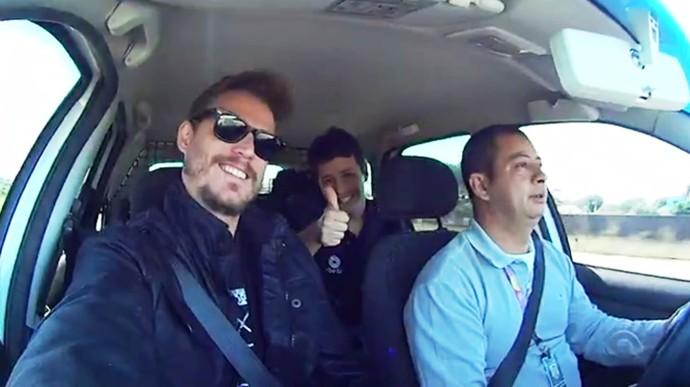 Equipe do Mistura visitou quatro cidades do Sul de SC (Foto: RBS TV/Reprodução)