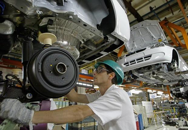 Carros ; veículos ; montadoras ; produção de automóveis ; PIB do Brasil ; indústria ; produção industrial ;  (Foto: Reprodução/Facebook)