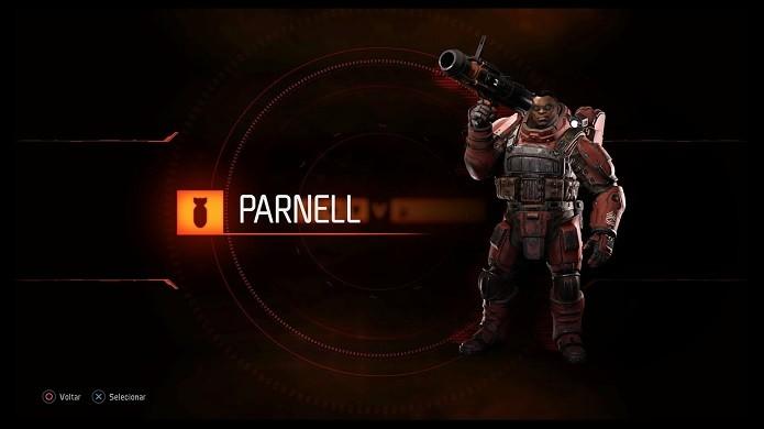 Parnell (Foto: Reprodução/Victor Teixeira)
