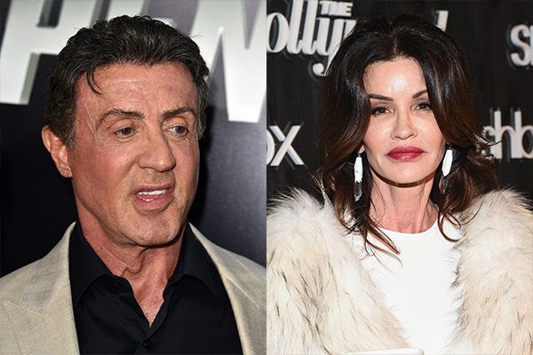 Sylvester Stallone e Janice Dickinson (Foto: Getty Images)
