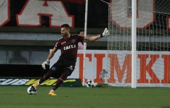 """Falha não abala confiança de Hudson em Júnior Oliveira: """"Foi seguro"""""""