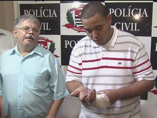 Dono de restaurante de Guarujá, SP, diz que matou turista para defender o filho (Foto: Reprodução/TV Tribuna)