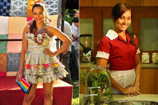 Lembra de Thaíssa Carvalho como Cida, em Viver a Vida (2009) e como a Timtim, de Malhação (2011)? (Foto: Rede Globo)