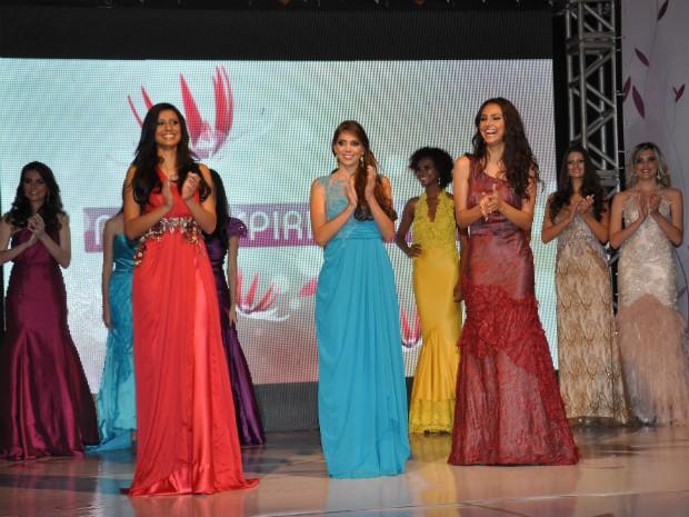Finalistas do concurso Miss Espírito Santo (Foto: Pepê/ Sá Cavalcante)