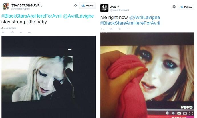 Fãs fingem enxugar lágrimas de Avril Lavigne no Twitter após ela revelar que tem doença de Lyme
