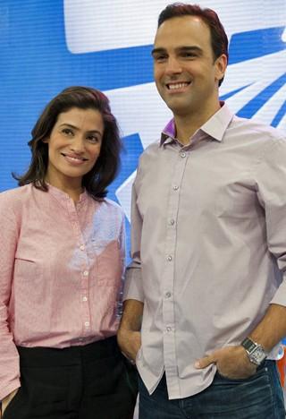 No Fantástico, a cobertura mais completa do primeiro turno das Eleições 2014 (Foto: Estevam Avellar/Globo)