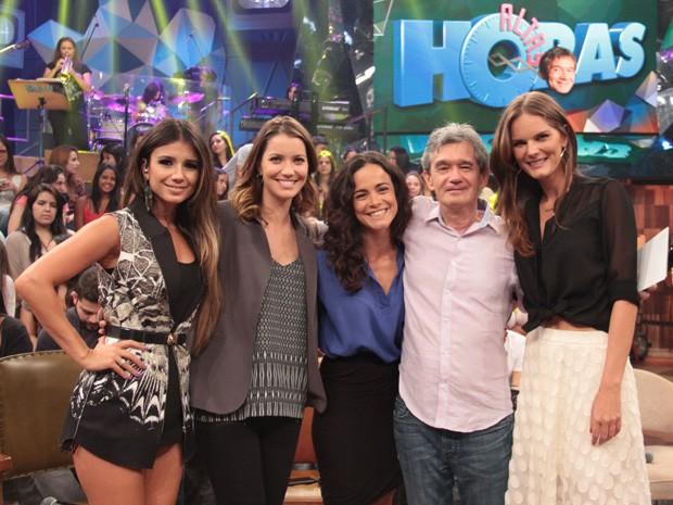 Serginho Groisman comanda um programa especial para as mulheres (Foto: Marcos Mazini/Gshow)